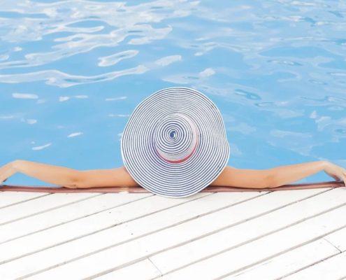 ¿Cómo pintar una piscina?