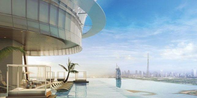 Dubái poseerá la piscina infinita más alucinante del mundo